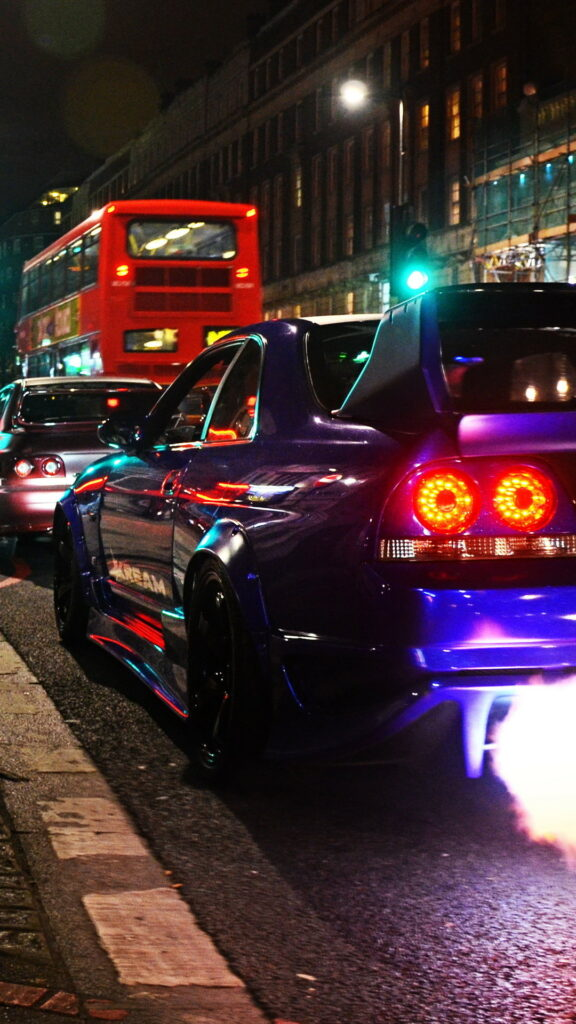 Rear Nissan Skyline Gtr R33 Wallpapers 65 Background Pictures