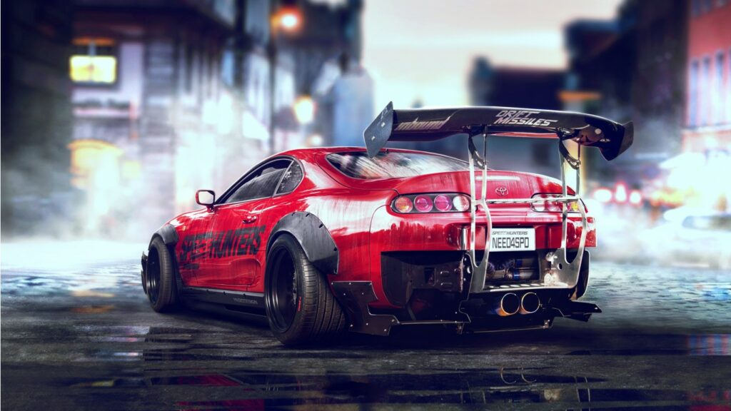 Best Toyota Supra Need For Speed Wallpaper Hd Car Wallpapers